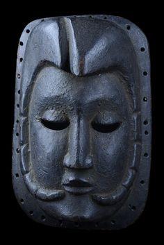 """Mask """"Mfon Ekpo"""" - Nigeria, Ibibio."""