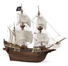 Galleon BUCCANEER. DIY, pirates, artcraft