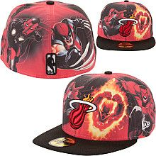 Marvel Miami Heat hat <<<< Okay, now THAT is cool.