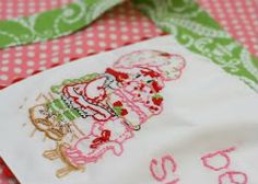 how to hand embroider - make your own pattern too...this started it all for me :)