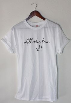 One Direction Harry Styles All the Love Concert by SoftPunkApparel