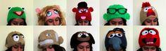 Knit Muppet hats!
