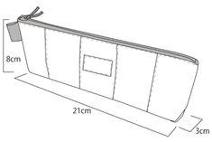 型紙:パッチワークペンケース24cm版: うねうねごろごろ Nifty, Wardrobe Rack, Home Decor, Index Cards, Japanese Language, Decoration Home, Room Decor, Interior Decorating
