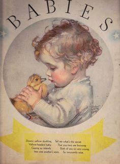 Babies by Maud Tousey Fangel Alice Higgins 1933 Adorable | eBay