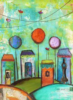 Whimsical Village
