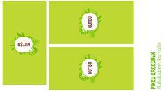 Kutsujen kuoret | lasten | juhlat | syntymäpäivät | synttärit | onnittelukortti | askartelu | paperi | paper | DIY ideas | birthday | invite | card | kid crafts | Pikku Kakkonen | yle.fi/lapset