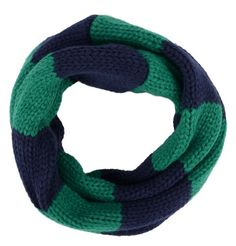 green and blue - for boys! Infinity Scarf for Kids, Toddler, Girls