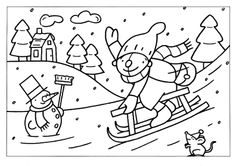 Winter themed Coloring Pages Unique 121 Best Images About Winter. You are in the right place about Winter Sports Crafts for Toddlers activities for kids Coloring Pages Winter, Colouring Pages, Coloring Books, Toddler Crafts, Preschool Crafts, Toddler Activities, Winter Crafts For Kids, Winter Kids, January Art