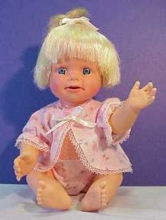 Cheerful Tearful Doll--still have her.  She was my all-time favorite baby doll.