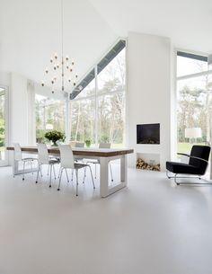 Bungalow Haus Design, House Design, Decor Interior Design, Interior Styling, Munier, Open Plan Kitchen Living Room, Living Styles, Modular Sofa, Scandinavian Home