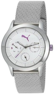 Relógio Puma Curve - S Metal Silver Women's watch PU102682004 #Relogios #Puma