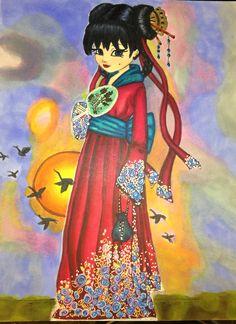 Jade Dragonne  Colorist: Cristina B.