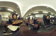 On the way to Enoshima on the Odakyu Romance Car. #japankuru #odakyu #romancecar #enoshima #japantravel #transportation #japantrains #trains #江の島 #小田急ロマンスカー #電車 #日本旅行