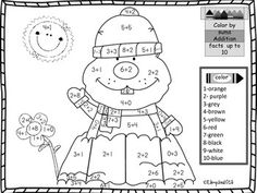 This coloring page reinforces practice for addition sums to 10 in a fun way. Use this on February as morning work, a math center or just for a fun activity. Related Products ⭐ Groundhog Day Sequencing Numbers For Kindergarten Groundhog Day, Groundhog Day Activities, Kindergarten Activities, Holiday Activities, Kindergarten Class, Second Grade Math, Grade 1, School Holidays, February Holidays