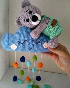 """Hayatın Akışı on Instagram: """"❤️🌸❤️🌸❤️ . #pinterest#alıntı#alinti . #amigurimi #motifliyelek #motiflibattaniye #kırlent #koltukşalı #tığişi #bebekbattaniyesi…"""" Animal Knitting Patterns, Crochet Toys Patterns, Amigurumi Patterns, Stuffed Toys Patterns, Nursery Accessories, Crochet Accessories, Crochet Wall Hangings, Newborn Toys, Baby Embroidery"""