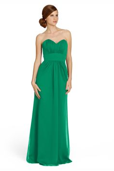 Jim Hjelm 5370 Crinkle Chiffon Bridesmaid Dress | Weddington Way