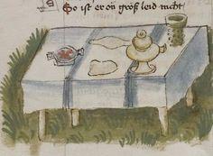 Thomasin <Circlaere>   Welscher Gast (a) Schwaben, um 1460-1470 Cod. Pal. germ. 320 Folio 37v