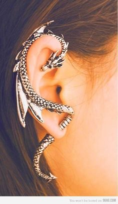 This is freakin' cool! Piercing Types and 80 Ideas On How to Wear Ear Piercings  #piercings #earpiercings #accessories