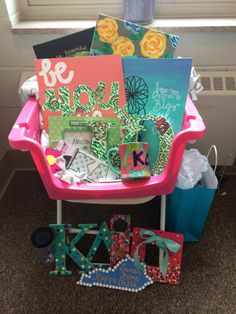 Kappa Delta Big Little basket