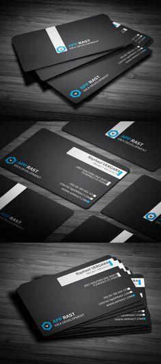 50 Creative Corporate Business Card Design examples - part 2 Cool Business Cards, Custom Business Cards, Corporate Business, Professional Business Cards, Business Card Design, Creative Business, Online Business, Graphic Design Blog, Design Design