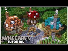 Minecraft Small House, Minecraft Cottage, Cute Minecraft Houses, Minecraft Farm, Minecraft Plans, Amazing Minecraft, Minecraft House Designs, Minecraft Construction, Minecraft Survival