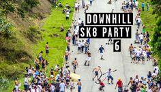 DOWNHILL SKATE PARTY 6 por Fernando Guzi