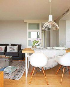 adelaparvu.com despre apartament moden gri si maro Foto Micasa (1)