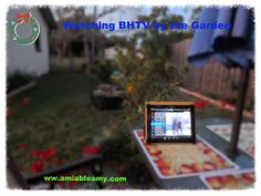 On Your Wedding: Watching #BHTV by the Garden#.Uqrartwo7rc #BrightHouseNetworks