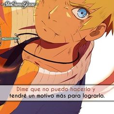 Dime que no. #ShuOumaGcrow #Anime #Frases_anime #frases