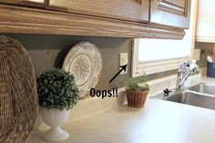 DIY Kitchen Backsplash. It doesn't get any easier than this! - The Creek Line House