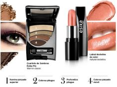 Maquillaje Tips y Catalogo: Look Natural y Exótico gracias a Esika Lipstick, Natural, Makeup, Beauty, Strength, Thanks, Make Up, Hipster Stuff, Maquiagem