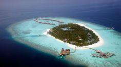Staying at Anantara Kihavah Villas Maldives: Upper View Of Anantara Kihavah Villas In Maldives