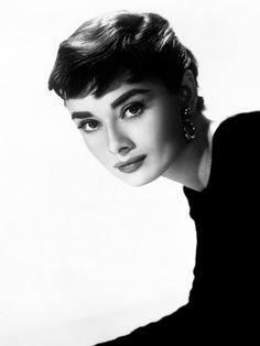 Audrey Hepburn - Forever one of my style heros. The brows!