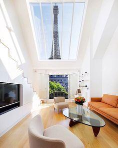 Alexandra et Pascal House by Charlotte Fequet. Location: #Paris #France #architectdesigne by architectdesigne