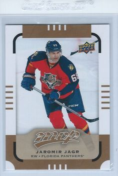 Jaromir Jagr 2015-16 Upper Deck MVP Short Print #111 Florida Panthers