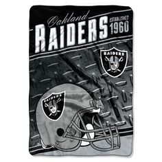 Oakland Raiders Stagger Microfleece Oversized Throw by Northwest. Oakland  Raiders FootballNfl FootballOakland Raiders MerchandiseNfl ... 7d32954bdf1