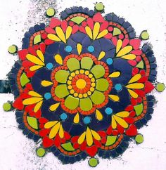 Mosaic Glass, Stained Glass, Mosaic Artwork, Fused Glass Jewelry, Mosaic Garden, Mosaic Projects, Ceramic Art, Mexico, Flowers