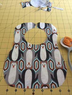 Baby Bib Tutorial with Free Printable Pattern | Mary Martha Mama