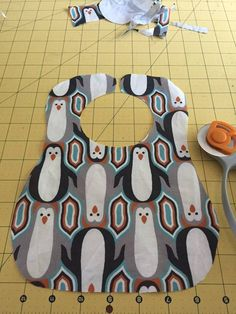 Baby Bib Tutorial with Free Printable Pattern | Mary Martha Mama