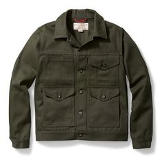 Filson Short Cruiser Jacket in Warm Tan