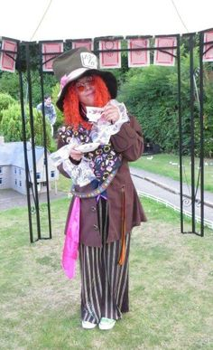 The mad hatter is ready for our Alice in wonderland weekend on the 22 and 23August ☺