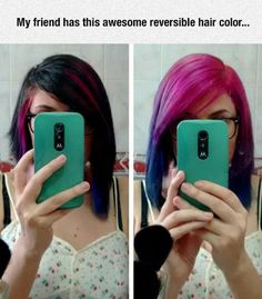 Reversible Hair