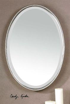 Oval Sherise Mirror