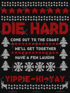 Die Hard Christmas, Disney Christmas, Christmas Svg, Christmas Ideas, Xmas, Christmas Jumpers, Ugly Christmas Sweater, Jingle All The Way, Happy Halloween
