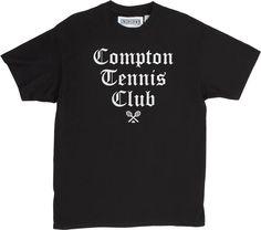 UNDRCRWN COMPTON TENNIS CLUB | BLACK/WHITE