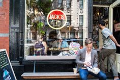 Jack's coffee shop West Village