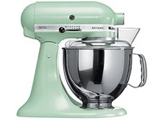 KitchenAid Artisan Pistachio Food Mixer With FREE Salter Digital Scale waaaaaaaah i will probably never own one of these..