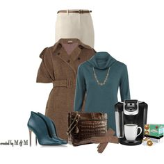 """Its Chilly in Atlanta"" by marion-fashionista-diva-miller on Polyvore"