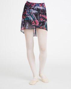 Capezio Print Wrap Skirt | Dance Skirts| Capezio
