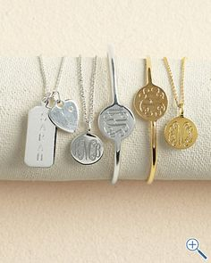 Personalized Jewelry Collection by Sarah Chloe - Girls